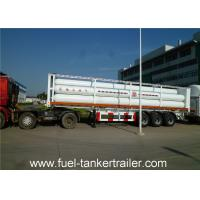 Buy cheap Container tube gas tank trailer for Loading CNG Medium with 9 units Gas Cylinder from wholesalers
