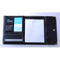 Buy cheap PU conference folder with calculator from wholesalers