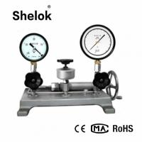 Buy cheap Water hydraulic  -0.082-6MPa pressure calibration machine dead weight tester product
