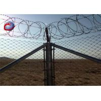 Buy cheap SS304 razor barbed wire/ stainless steel razor wire/ SS concertina barbed razor wire from wholesalers
