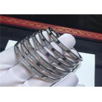 Buy cheap Solid 18K White Gold Cartier Love Bracelet from wholesalers
