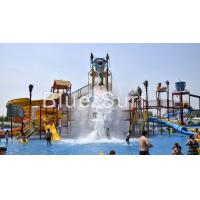 Buy cheap Mermaid Theme Pour Bucket Water Playground Equipment Water Park Equipment product