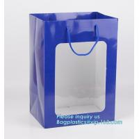 Buy cheap shopping bag luxury grocery bag carrier grocery paper bag,Recycled luxury Ladies Paper Carrier Bag Shopping Bag for Clot from wholesalers