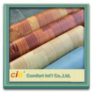 Buy cheap Custom Printing Wood Grain Artos PVC Floor Cover , Wedding Commercial Floor Coverings product