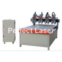 Buy cheap 3D Carving Wood Sculpture CNC Router Machine 8 Heads / CNC Wood Router from wholesalers