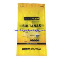 Buy cheap Sultanas stand up bag with zip lock, stand up pouch for packaging from wholesalers