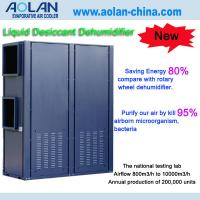 Buy cheap Aolan Liquid desiccant air conditioning deep industrial dehumidifier cooling units from wholesalers