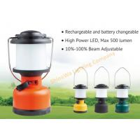 Buy cheap Portable Rechargeable Camping Tent Lights / Battery Operated Outdoor Lanterns from wholesalers