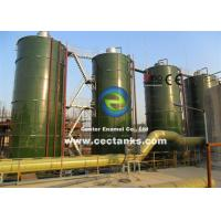 Buy cheap Corrosion Resistance Steel Silos for Grain / Dry Bulk Storage with AWWA D103 Standard from wholesalers
