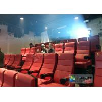 Buy cheap Electrical / Hydraulic 4D Movie Theater Equipment For Action Movies 4 - 100 Seats product