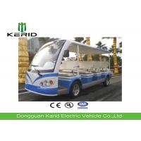 Buy cheap 11 Seater Electric Shuttle Car With Curtis Controller For Hotel Reception 72V/5KW Motor product