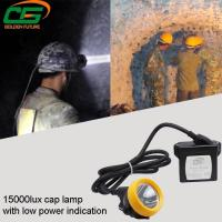 Buy cheap IP65 Safety Underground Led Mining Cap Lamp 1 Watt Light Weight from wholesalers