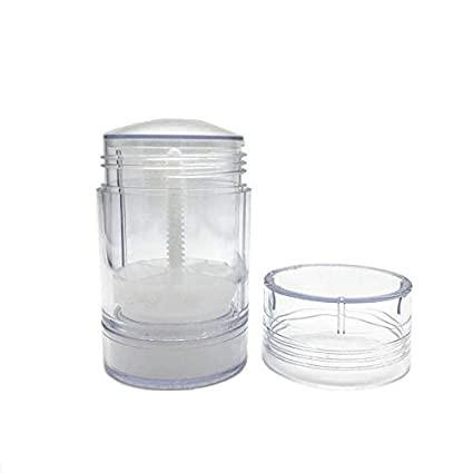 Quality Clear Study Reusable Empty Plastic Deodorant Bottles 15g for sale