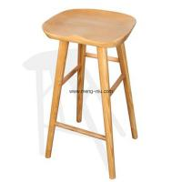 Buy cheap Vintage design home furniture solidwood tractor barstool, restaurant bar stool,color natural. from wholesalers