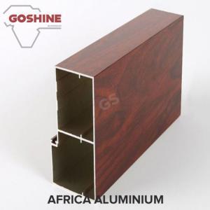 Buy cheap Unique Emulation Wood Finish Aluminium Profiles Composite Panel Rectangle Shape product