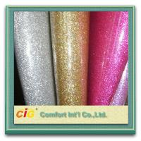 Buy cheap Soft Glitter Wallpaper PU Synthetic Leather Home Wall Decoration Fabric Material Multi Color product