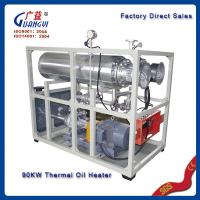 Buy cheap hot oil boiler for hot press machine from wholesalers