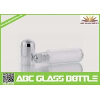 Buy cheap 10ml Empty Clear Glass Roller Ball Bottle, 10ml Screw Cap Roll On Bottle China Wholesale from wholesalers