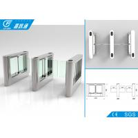 Buy cheap Office Building Swing Barrier Gate Service Life 5000000 Cycles Fault Detection from wholesalers