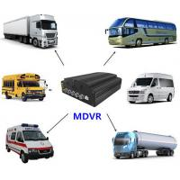 Buy cheap Four - In - One 4 Channel Mobile DVR , 720P SD Card Mobile DVR With HDD Heating Functions product