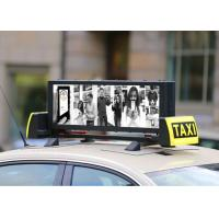 Buy cheap Outdoor Fixed LED Display Light Weight Waterproof Taxi Roof Panel from wholesalers