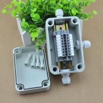 Buy cheap IP65 Waterproof Cable Junction Box 80*130*70mm 3 ways UK2.5B Din Rail Terminal Blocks Kit from wholesalers
