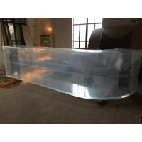 Buy cheap Acrylic Clear Thick Curved Sheet / Large Acrylic Bending Panel from wholesalers