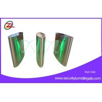 Buy cheap Full Automatic Visitor Management  Flap Turnstile For Door Access System from wholesalers