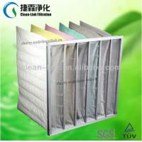Buy cheap Polyester bag/F5 non woven fabric bag filter from wholesalers