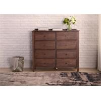Buy cheap Dual Drawers Solid Oak Living Room Storage Cabinet Classical Style Standard Size from wholesalers