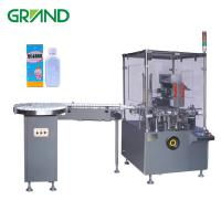 Buy cheap Square Bottle Automatic Carton Packing Machine PLC Touch Screen Optional Speed product