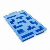 Buy cheap Ice Cube Tray, Made of High-quality Silicone, FDA and LFGB Approved, OEM Designs product