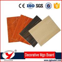 Buy cheap Fireproof house interior wall decorative panel HPL coated mgo board from wholesalers