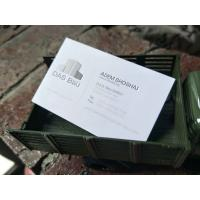 Customized Logo Cotton Paper Business Cards Fine Craftsmanship For Gift Invitation