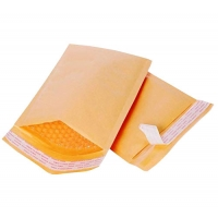 Buy cheap OEM Bubble Padded Kraft Paper Envelope #000 With Button And String Closure product