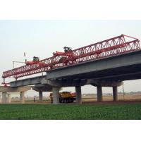 Buy cheap JQG400t-40m Beam Launcher Gantry crane for bridge and highway from wholesalers