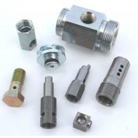 Buy cheap Mirror Polished Precision Turned Parts Brass / Titanium With 3D Drawing from wholesalers