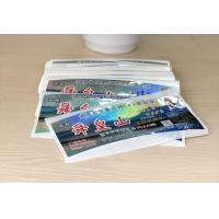 Buy cheap Anti Dirty Security Hologram Stickers Multi Color For Attractions Tickets from wholesalers