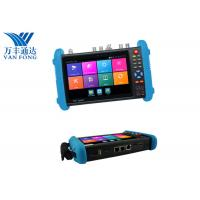 Buy cheap CVBS CCTV Camera Test Monitor ,  PTZ Control 48V PoE Security Camera Tester from wholesalers