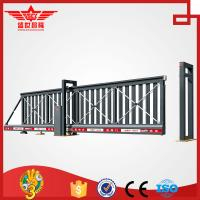 Buy cheap sliding gates basic kombi cantilevered made of aluminum L1502 from wholesalers