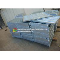 Buy cheap City Road Floor Forge Walkway Steel Grating , Metal Bar Grating Anti - Theft Design product
