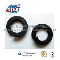 Buy cheap Black Dioxide Railway Coil Spring Washer from wholesalers