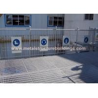 Buy cheap Lightweight Recyclable Steel Grating Platform No Construction Waste from wholesalers