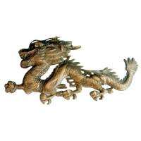 Buy cheap Chinese dragon of copper handicraft, Chinese folk art,meaning luck from wholesalers