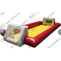 Buy cheap Commercial Rental Inflatable Soap Football Field , inflatable Soccer field from wholesalers