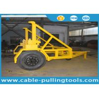 Buy cheap 10T Cable Carriage Vehicle Cable Drum Trailer Cable Reel Trailer Underground Cable Tools from wholesalers