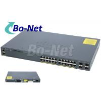 WS C2960X 24TS L Cisco Soho Gigabit Switch , Cisco 2960x 24 Port Switch 80G