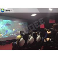 Buy cheap Multiplayer Interactive 7D Shooting Game 7D Movie Theater With Shooting Game And 9 Luxury Motion Seats product