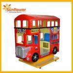 Buy cheap London bus 3 players kiddie ride children's ride on animal toy kiddie swing ride/Factory Price Kiddie Ride London Bus from wholesalers