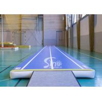 Buy cheap Custom Size Airtight Indoor Blow Up Gymnastics Inflatable Air Tumble Track Made Of Drop Stitch Fabric FOR SALE from wholesalers